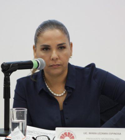 PRIMER 'ATAQUE' DE MARA AL GOBIERNO DE REMBERTO: Dice Alcaldesa que investigan presuntos descuentos 'amañados' del predial durante la pasada administración en Cancún