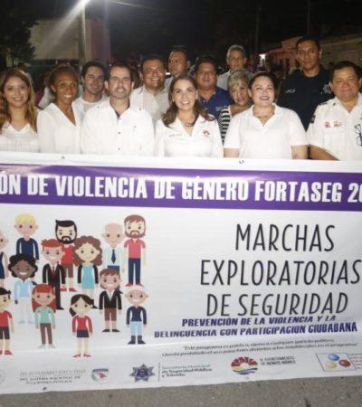 Replica Mara Lezama 'Marchas Exploratorias de Seguridad'