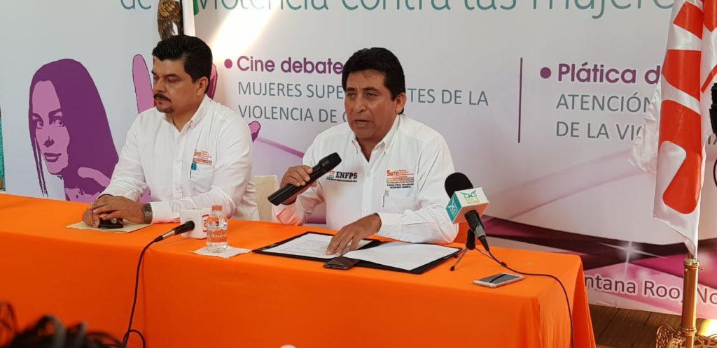 """""""Maestros del SNTE trabajarán con Andrés Manuel López Obrador"""", anuncia Fermín Pérez"""