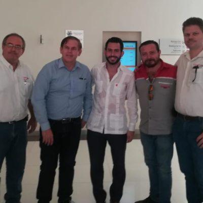 Chetumal recibe inversión de empresa beliceña especializada en servicios automotrices