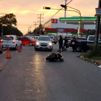 ACTUALIZACIÓN | SE CONSUMA EJECUCIÓN: Fallece motociclista herido en Las Torres