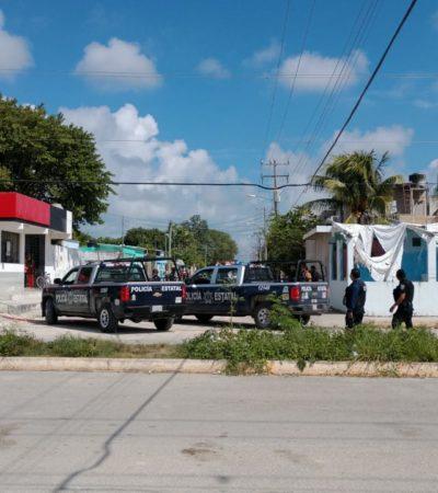 OTRO ATAQUE A BALAZOS EN LA REGIÓN 227: Un muerto y dos heridos en la Avenida Río Hondo con Centenario, en Cancún
