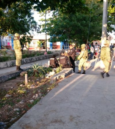 ATAQUE EN EL KIOSKO DEL MERCADO CHETUMALITO: Matan a un hombre a balazos en la SM 67 de Cancún, el segundo desde que se aplica el 'Mando Único'