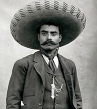 Roban en Morelos el 'Manifiesto al Pueblo Mexicano' firmado por Emiliano Zapata en 1918
