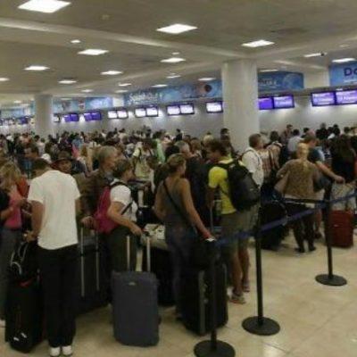 El Aeropuerto Internacional de Cancún podría superar el récord y registrar 25 millones de pasajeros en el cierre del 2018
