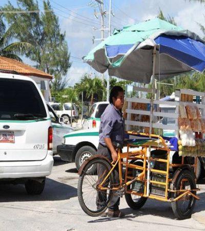Es baja la recaudación por el comercio en vía pública, por lo que autoridades de BJ trabajarán para que se ordene