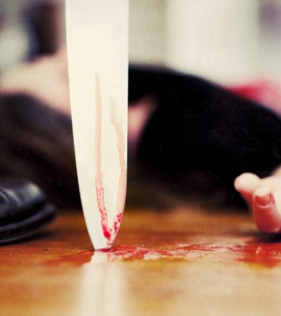 DEJÓ UN RASTRO DE SANGRE DE 20 METROS: Investigan asesinato con tintes pasionales en la SM 224