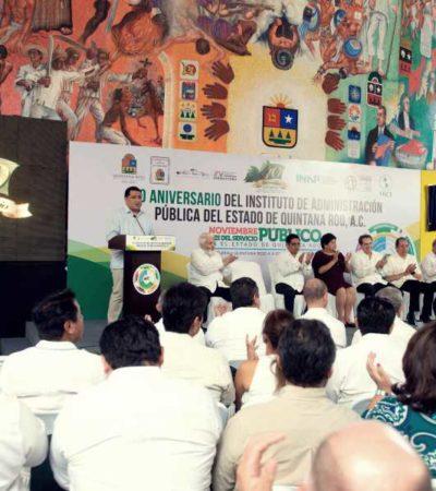 Reitera Congreso compromiso por impulsar leyes que fortalezcan el servicio público en Quintana Roo