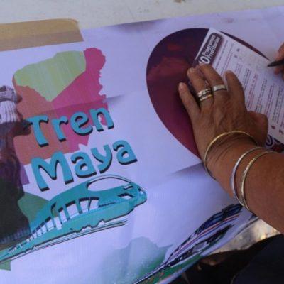 El Tren Maya, la propuesta que menos votos recibió en la segunda consulta de AMLO