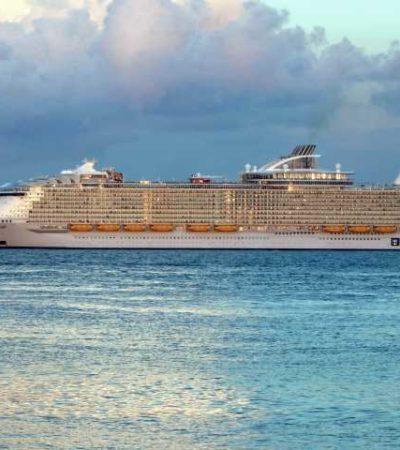 Recibe Cozumel al crucero más grande del mundo de Royal Caribbean