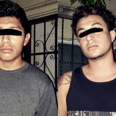 Detienen a dos con droga en Playa del Carmen