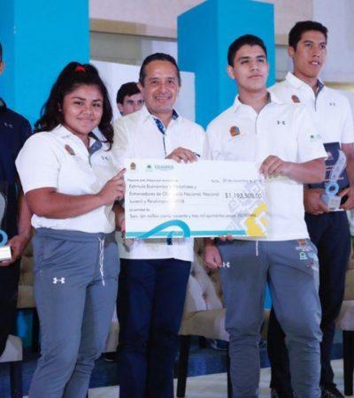 Javier López Quintero, de Chetumal, entre los ganadores del Premio Estatal del Deporte 2018