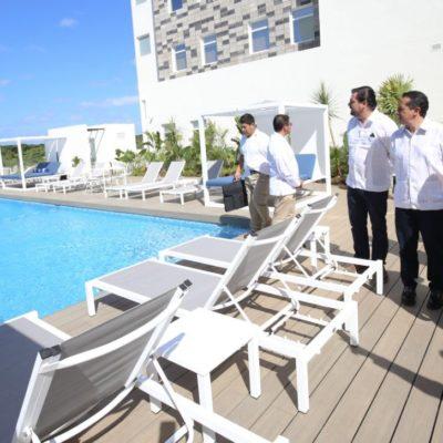 Inaugura Gobernador los hoteles City Express Suites y City Express Plus Cancún Aeropuerto