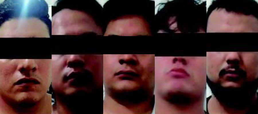VINCULAN A PROCESO A CUATRO PRESUNTOS SICARIOS: Detenidos en la Kinik de Cancún son acusados por venta de drogas y portación de armas y cartuchos