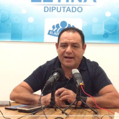 """""""La SSP debe ratificar que no se va a negociar con la delincuencia organizada"""", dice el diputado Jesús Zetina"""