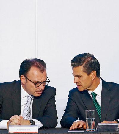 """""""TODOS PACTARON CON GUION"""": Asegura Carlos Navarrete que Peña y AMLO, con la mediación de Videgaray, la 'transición de terciopelo' para darle amnistía e impunidad al gabinete saliente, revela Proceso"""