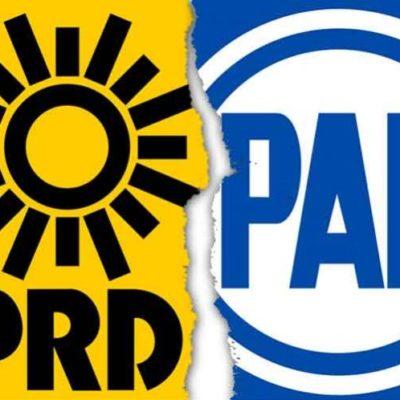 Rompeolas: PAN y PRD, al borde de la separación en QR
