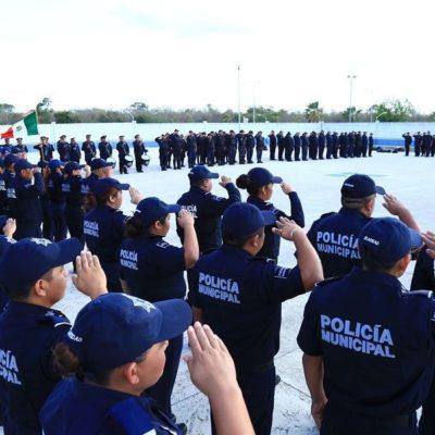 Regidores del PAN y PRD en Solidaridad buscarán que Laura Beristaín también ceda la policía municipal al Mando Único