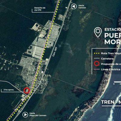 Favorecerá Tren Maya desarrollo de Puerto Morelos, sostiene Laura Fernández