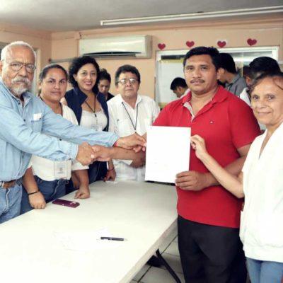 GANA PLANILLA VERDE EN LEONA VICARIO: Dan constancia de mayoría a José Alberto Cahuich Ramírez
