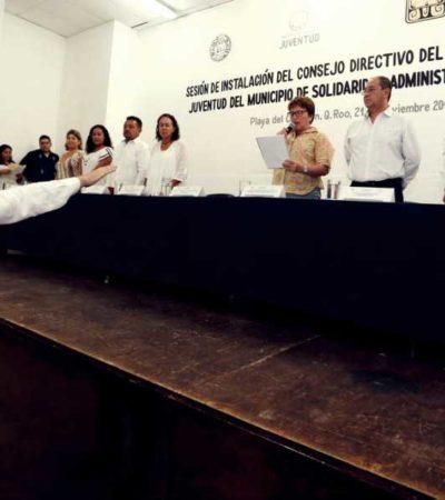 Instalan el Comité del Consejo Directivo del Instituto de la Juventud en Solidaridad