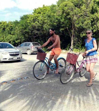 Anuncian trabajos de reparación de la carretera de acceso a la zona costera de Tulum