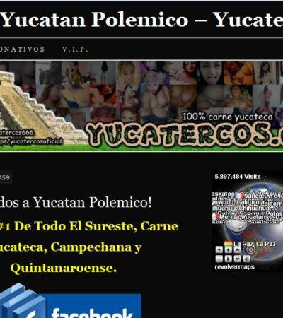 Relanzan portal 'Yucatercos' donde exhiben fotos íntimas de jóvenes de la península y del sureste