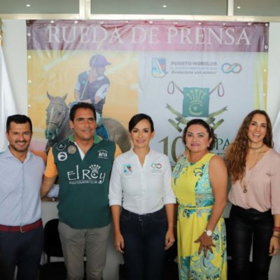 ALISTAN LA DÉCIMA EDICIÓN DE LA COPA DEL REY EN PUERTO MORELOS: Llegarán visitantes de alto poder adquisitivo, destaca Laura Fernández