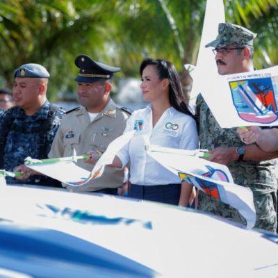 Autoridades de Puerto Morelos dan banderazo de inicio del Operativo Vacacional de Invierno
