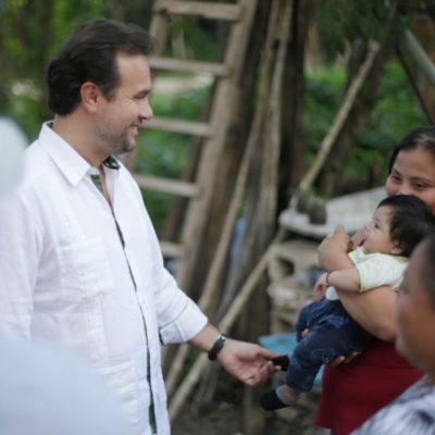 A casi cien días de gobierno, Pedro Joaquín continúa impulsando programas y obras públicas