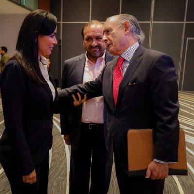Aumento en las participaciones federales anunciado por AMLO será una 'bocanada de aire' para los municipios, dice Laura Fernández