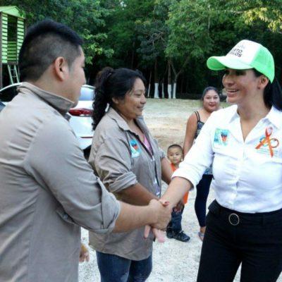 Gobierno de Puerto Morelos y ciudadanos trabajan de la mano para mejorar la calidad de vida de las familias