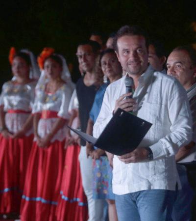 Encuentro cultural de danza y música entre Cozumel y Paraguay