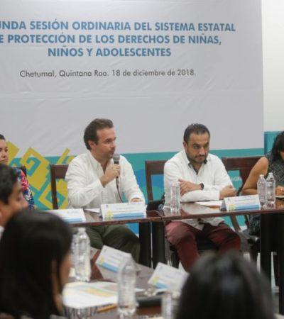 Participa Pedro Joaquín en la Segunda Sesión Ordinaria del Sistema Estatal de Protección Integral de Niñas, Niños y Adolescentes