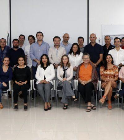 En reunión con Pedro Joaquín, integrantes de la Coparmex le dan su respaldo