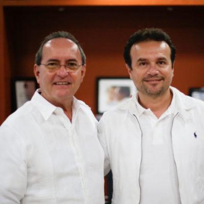 Se reúne Pedro Joaquín con Francisco López Mena a fin de implementar estrategias de seguridad