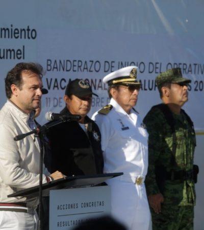 Inicia el operativo Guadalupe-Reyes 2018 en Cozumel