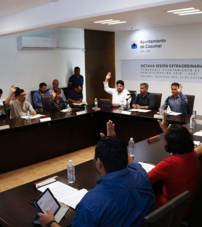 Aprueban Presupuesto de Egresos 2019 en Cozumel