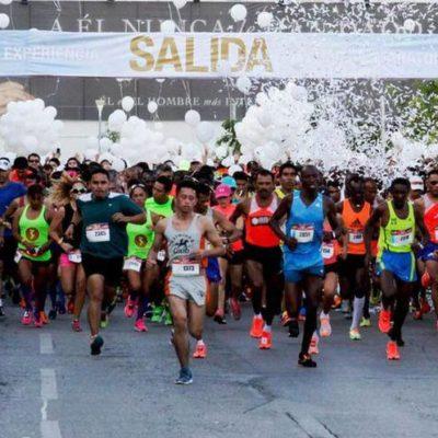 El próximo viernes cerrarán vialidades por la edición 34 del Maratón Cancún