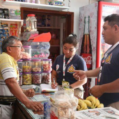 Operativo contra la venta de pirotecnia en Isla Mujeres