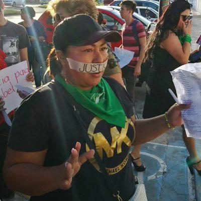 ENOJADA, TRISTE Y ASQUEADA: Activista en defensa de los derechos de las mujeres denuncia la liberación de hombre que casi mata a golpes a su ex pareja en Chetumal