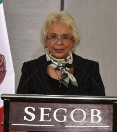 EMPIEZA EL CAMBIO: Asume Olga Sánchez Cordero como nueva secretaria de Gobernación