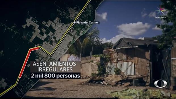 EL TREN MAYA 'MOVERÁ' A MILES EN QR: Casi 3 mil personas tendrán que ser reubicadas en Playa del Carmen por encontrarse en la ruta del proyecto de AMLO