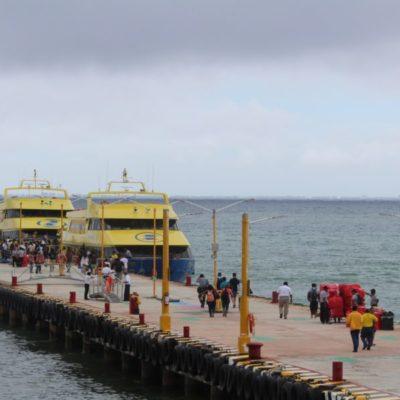 Inminente la aprobación de nuevo derecho para cruzar de Playa del Carmen a Cozumel