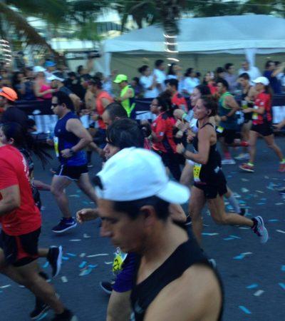 Provoca airadas reacciones en redes el cierre del acceso al aeropuerto de Cancún por el Maratón