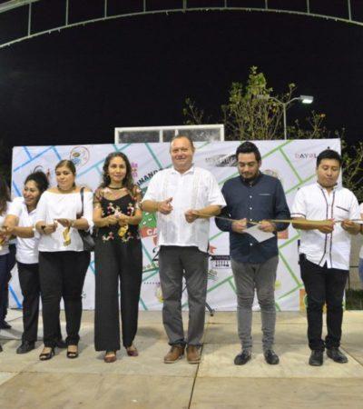 Inaugura José Esquivel la quinta caravana empresarial 'Caminando hacia el éxito' en Carrillo Puerto