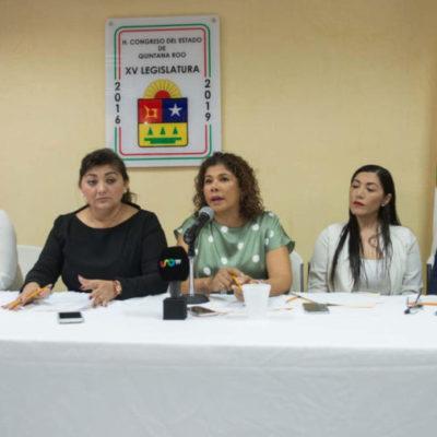 """""""No se ha logrado erradicar conductas machistas de elementos policíacos que siguen favoreciendo a la impunidad"""", dicen diputadas al condenar agresión de fémina en Chetumal"""