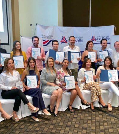 Para profesionalizar la industria de tiempo compartido en México, Acotur y Amdetur realizaron el Tercer Máster en Comercialización