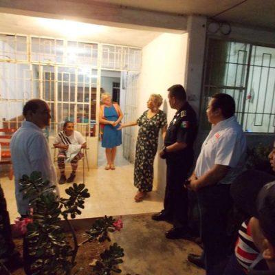 Se organizan vecinos de la López Mateos en Chetumal con autoridades para disminuir índices delictivos en la zona