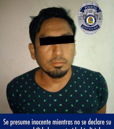 Aseguran motocicletas con reporte de robo y detienen a un hombre en Cozumel